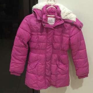 H&M Kids Winter Jacket - Hot Pink