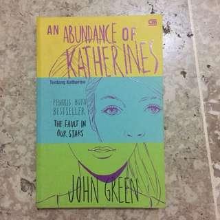 An Abundance of Katherines John Green Novel