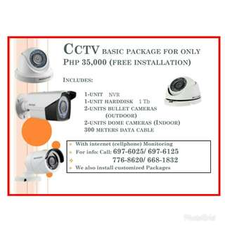 CCTV Package with FREE Installation