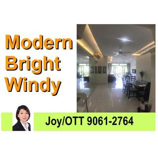 Good Unit. Spacious 3-bedroom 3 bathrooms. Bright & Windy. Greenery View. Expat's fave.