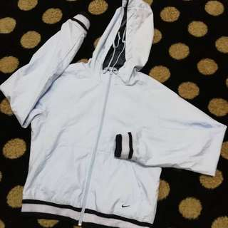 Nike hooded windbreaker