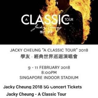 Jacky cheng tickets