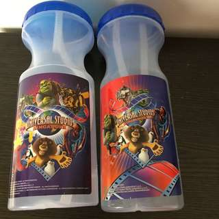 🚚 Universal Studios Singapore Water Bottle