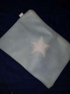 Dompet kecil warna biru