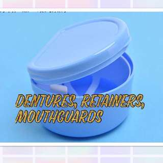 Denture / Retainers/ Mouthguards  / Invisalign Box
