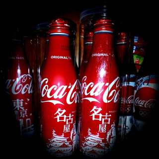 日本可口可樂 名古屋限定版本 鋁樽