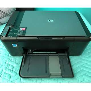 HP All-in-One Printer (Cartridges ink finished) - With delivery