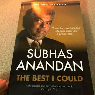 Subhas Anandan - the best I could