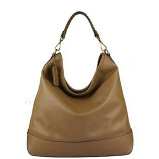 Poon Leather Handbag Cappuccino