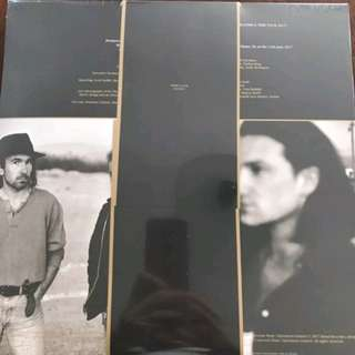 New, unopened 30th anniversary vinyl of The Joshua Tree Singles: Remastered & Live.