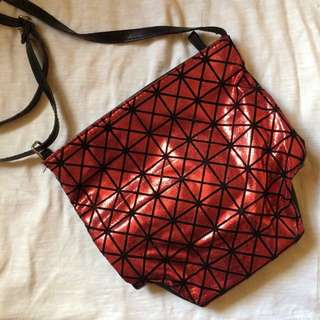 Avon Black & Red Sling Bag