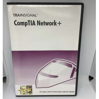 Trainsignal CompTIA Network+ DVD learning set