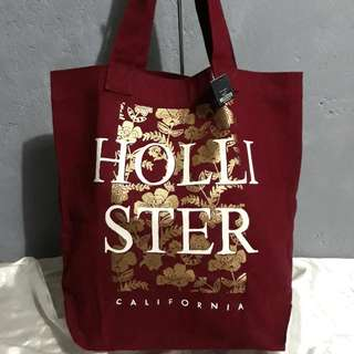 SALE✔ HOLLISTER CANVAS TOTE BAG