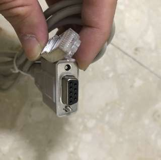 RJ45 to serial cable