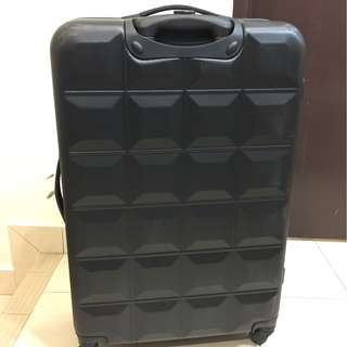 Travel Luggage Hardcase Black from Europe