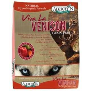 SOLD - Addiction Viva La Venison 4lb