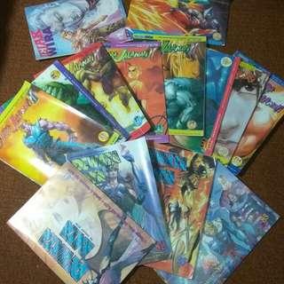 Taiwan comics various series