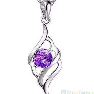 Women's Angel Wing Pendant Necklace