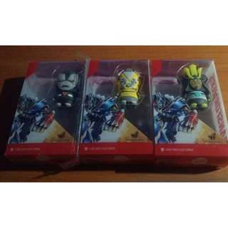 Transformers UOB Exclusive 4gb Thumbdrive By Trek (set of 3)