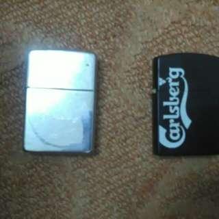 Lighter zippo & carlsberg