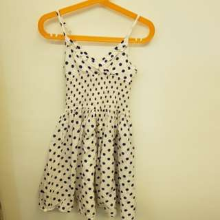 Esprit Polka Dot Dress (8-9yrs old)