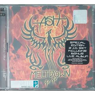 EU Press 2 CD set Special edition Ash Meltdown (Live on CD2) OOP