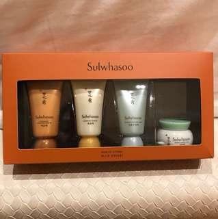 Sulwhasoo mask kit - 4 items