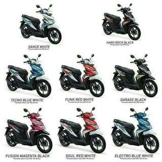 All type motor honda