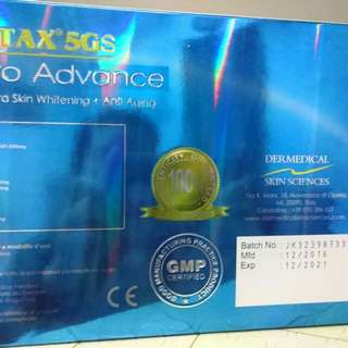 Glutax 5gs Micro Advance Cellular Ultra Skin Whitening and Anti aging
