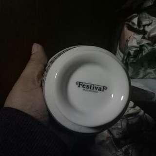 plate, cup & saucer set