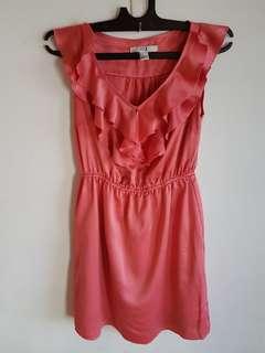 Summer Dress Peach Forever 21
