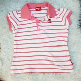 Miki collar shirt (size:11)