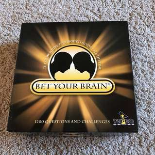 Board Game - Bet Your Brain