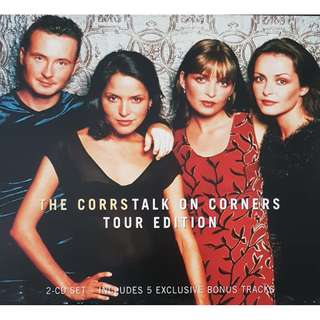 Malaysia Print CD The Corrs Talk on Corners Tour Edition