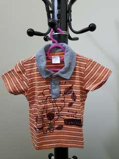 Baby orange shirt