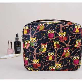 Pu Zipper Makeup Cosmetic Make Up Organizer Beauty Toiletry Bag