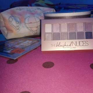 Eyeshadow Maybelline The Blushed Nudes