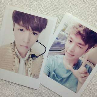 EXO Lay Polaroid