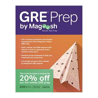 GRE Prep by Magoosh BY Magoosh (Author),‎ Chris Lele  (Author),‎ Mike McGarry (Author)