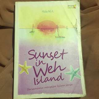 Sunset in Weh island & Love cats
