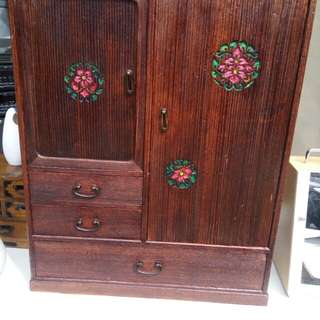 Wooden cabinet from Japan