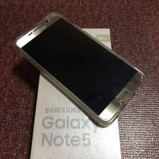 Samsung Note 5 Duos + Samsung Gear