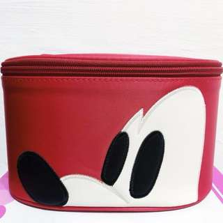 Mickey Mouse cosmetic pouch.