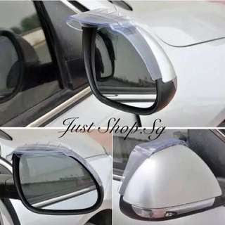 Car Side Mirror Shade With Rain Diffuser
