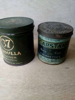 Abdulla 37 & Medium Capstan Cigarettes Tin