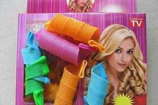 Magic leverag hair curler