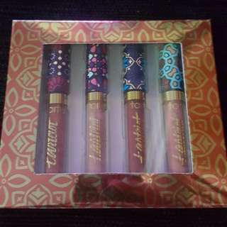 Tarte -  Tartiest Lip Paint 4pcs/Box