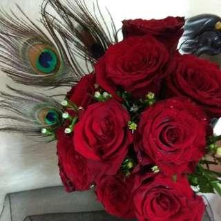 Valentine bouquet/flower bouquet/hand bouquet