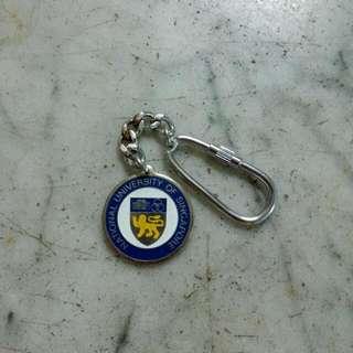 NUS National University Of Singapore Keychain