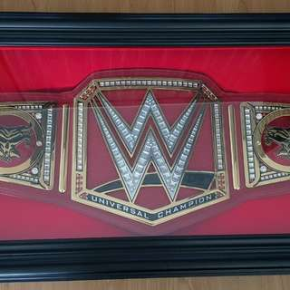 Wwe universal champion adult belt with brock lesnar template